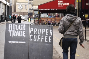 Rough Trade probably do have proper coffee. They have proper good everything else